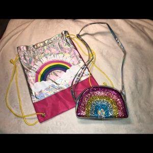 Girls Rainbow Bags